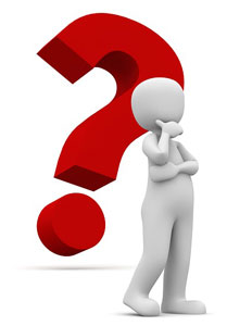 question mark question response search engine